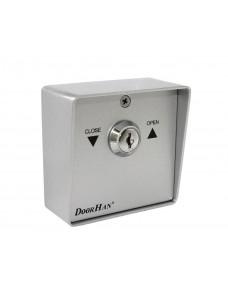 Выключатель металлический DoorHan SWM кнопка-ключ для рольставен