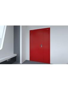 Дверь DoorHan противопожарная 1150*2050 двустворчатая.