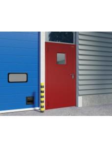 Дверь DoorHan противопожарная 1080*2050 одностворчатая, остекленная.