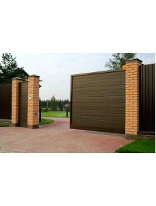 Ворота из сэндвич панелей Alutech ADS400 3500*2085