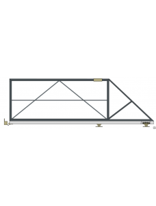 Каркас откатных ворот 4000*2000 с фурнитурой Alutech