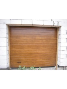 Ворота гаражные Alutech Trend 2500*2250 Цвет Золотой Дуб