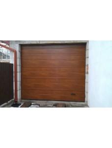 Ворота гаражные Alutech Trend 2500*2125 Цвет Золотой Дуб