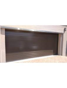 Гаражные подъемные ворота 3000*3000 цвет коричневый.
